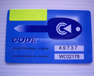 Immobilizer Pin Code Service